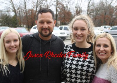 Jason Rhodes Family