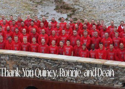 Quincy, Ronnie, Dean